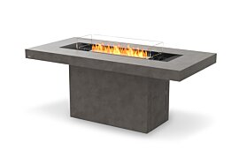 Gin 90 (Bar) Freestanding Fireplace - Studio Image by EcoSmart Fire