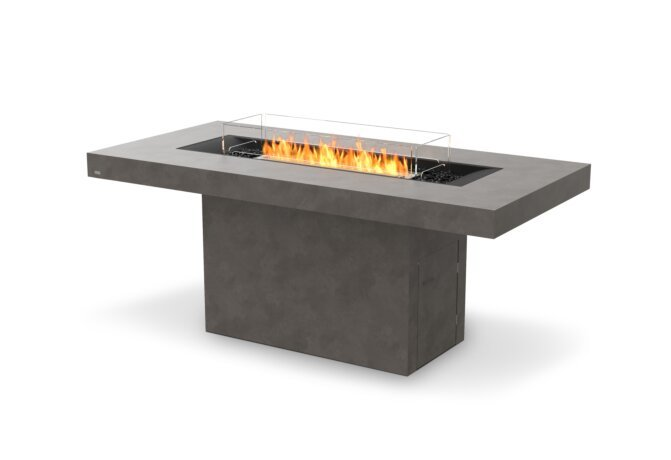 Gin 90 (Bar) Fire Table - Ethanol / Natural / Optional Fire Screen by EcoSmart Fire