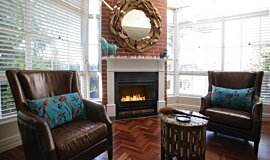 Private Residence Indoor Fireplaces Fireplace Grate Idea