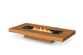 Gin 90 (Low) Freestanding Fireplace - Studio Image by EcoSmart Fire