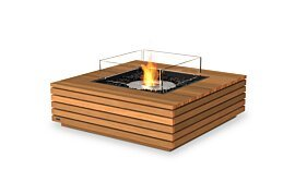 Base 40 Outdoor Fireplace - Studio Image by EcoSmart Fire