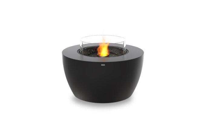 Pod 40 Fire Pit - Ethanol - Black / Graphite / Optional Fire Screen by EcoSmart Fire