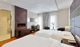 Hotel Room Hospitality Fireplaces Electric Sery Idea