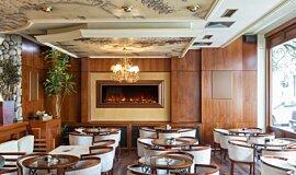 Restaurant Electric Fireplaces 嵌入式燃烧室 Idea