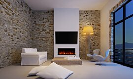Private Residence Residential Fireplaces Electric Sery Idea