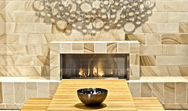 EcoOutdoor Single Sided Fireboxes XL Burners Built-In Fire Idea