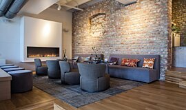 Lobby Fireplace Inserts Flex Sery Idea