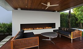 Flex 158SS Single Sided Fireplace by EcoSmart Fire Outdoor Fireplaces Built-In Fire Idea