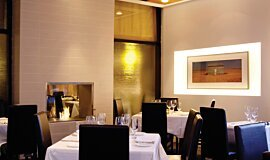 Equinox Restaurant Hospitality Fireplaces Built-In Fire Idea