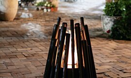 The Grounds Sydney Commercial Fireplaces Freestanding Fire Idea