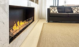 Private Residence Single Sided Fireboxes Flex Sery Idea