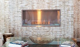 W Residence Single Sided Fireboxes XL Burners Fireplace Insert Idea