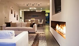 Rising Glen Residential Fireplaces Ethanol Burner Idea