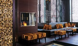 Shochu Bar Hospitality Fireplaces Built-In Fire Idea