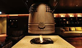 Chikusenso Mt Zao Onsen Resort & Spa Hospitality Fireplaces Built-In Fire Idea
