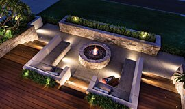 Oswald Down South Home Landscape Fireplaces Ethanol Burner Idea