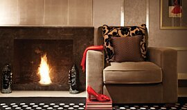 Wyndham Grand Hotel Hospitality Fireplaces Built-In Fire Idea