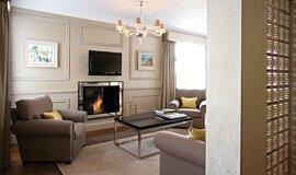 St James Boutique Hotel BK Series Built-In Fire Idea