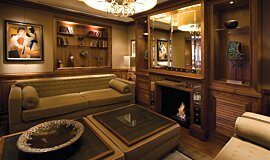 St James Boutique Hotel Hospitality Fireplaces Built-In Fire Idea