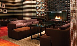 Westin Hotel Commercial Fireplaces Built-In Fire Idea