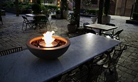 The Grounds Outdoor Fireplaces Freestanding Fire Idea