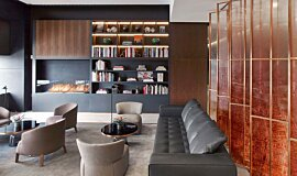 St Regis Hotel Bar Hospitality Fireplaces Ethanol Burner Idea