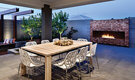 The Brindabella Landscape Fireplaces Ethanol Burner Idea