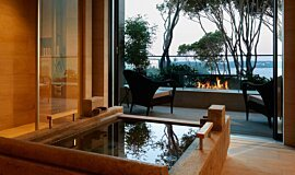 Hiramatsu Hotel & Resorts Hospitality Fireplaces Built-In Fire Idea