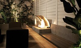 Kromer Landscape Fireplaces Ethanol Burner Idea