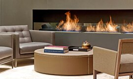 St Regis Hotel Lobby Hospitality Fireplaces Built-In Fire Idea