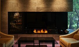 Salon de Louange Commercial Fireplaces Ethanol Burner Idea