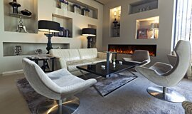 Lobby Hospitality Fireplaces Fireplace Insert Idea