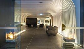 SKYE Suites Sydney Commercial Fireplaces Designer Fireplace Idea