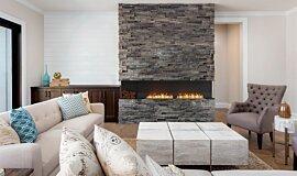 Lounge Room Indoor Fireplaces Flex Sery Idea
