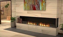 Lounge Area Indoor Fireplaces Flex Sery Idea