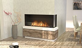 Dining Room Indoor Fireplaces Flex Sery Idea