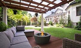 Outdoor Pergola Fire Tables Fire Table Idea