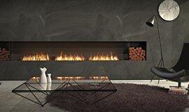 Living Room Indoor Fireplaces Flex Sery Idea