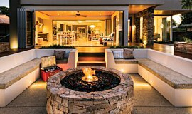Oswald Down South Home Favourite Fireplace Ethanol Burner Idea