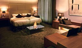 Merkmal Japan See-Through Fireplaces Designer Fireplace Idea