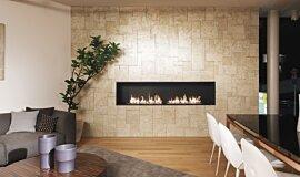 Merkmal Showroom Commercial Fireplaces Ethanol Burner Idea