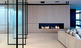 N Apartment Tel Aviv Apartment Fireplaces Ethanol Burner Idea
