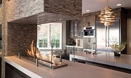 Notion Design See-Through Fireplaces Ethanol Burner Idea