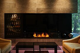 XL1200 Modern Fireplace - In-Situ Image by EcoSmart Fire