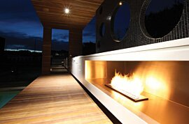 XL900 Modern Fireplace - In-Situ Image by EcoSmart Fire