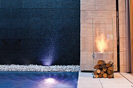 Ghost Designer Fireplace - In-Situ Image by EcoSmart Fire