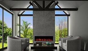 EL60 Fireplace Insert - In-Situ Image by EcoSmart Fire