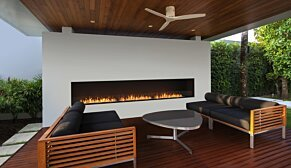 Flex 68SS Flex Fireplace - In-Situ Image by EcoSmart Fire
