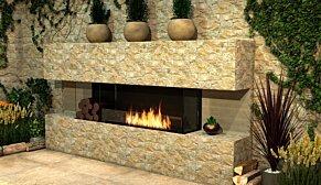 Flex 50BY Flex Fireplace - In-Situ Image by EcoSmart Fire