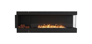 Right Corner Fireplace - by EcoSmart Fire
